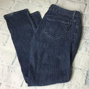 Simply Vera Denim Straight Leg Jeans.